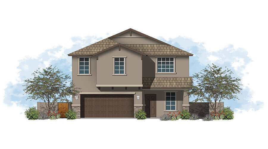 PLAN 1425 – THE GAMBREL – 1,423 sq. ft.