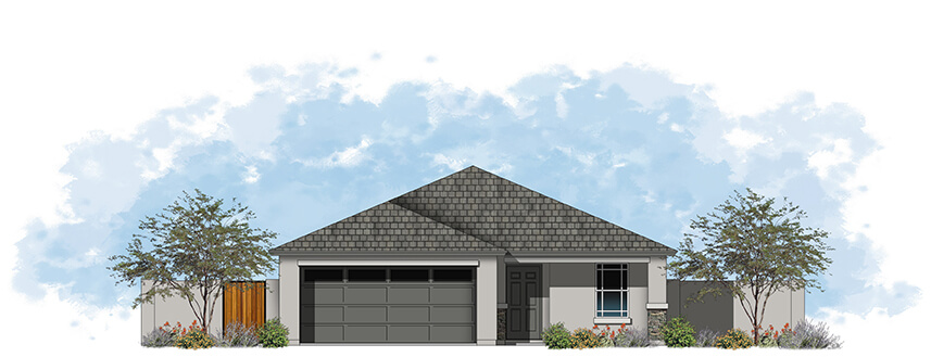 Plan 35 1880 C stone front